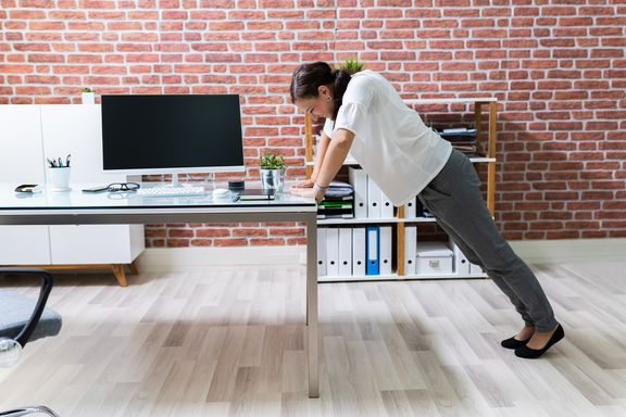 Exercises To Do From Your Desk