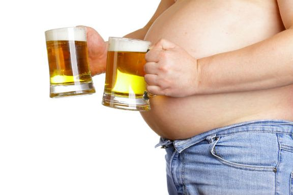 Dude, that Beer Belly Could Cause Osteoporosis!