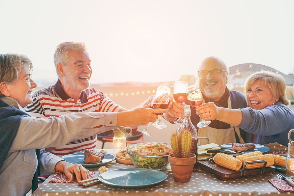 Keys to Happy, Healthy Aging for Seniors