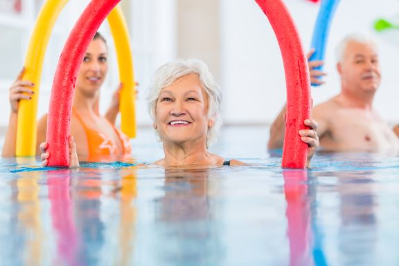 Gravity-Defying Benefits of Aqua Fit