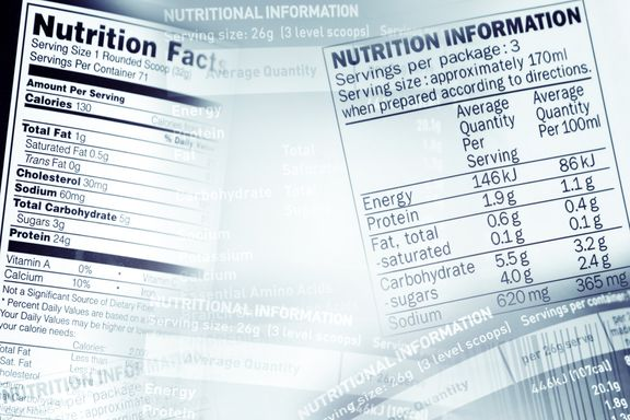 Nutritional Information Coming to Some Bar Menus in 2015