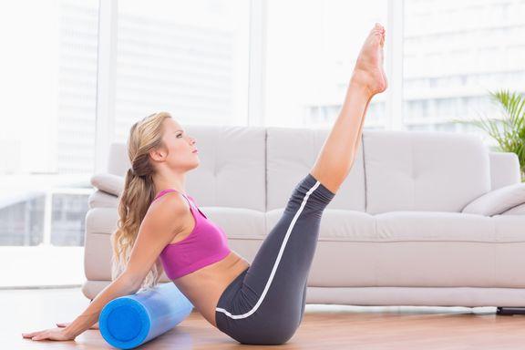Diez consejos para ejercitarse con un rodillo de espuma