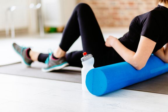 Stretch and Release Foam Roller Tips