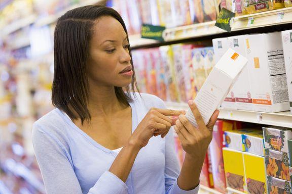 Décomposer les étiquettes alimentaires en 8 étapes