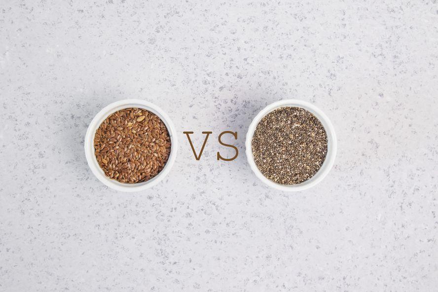 Chia Seeds vs. Flaxseeds