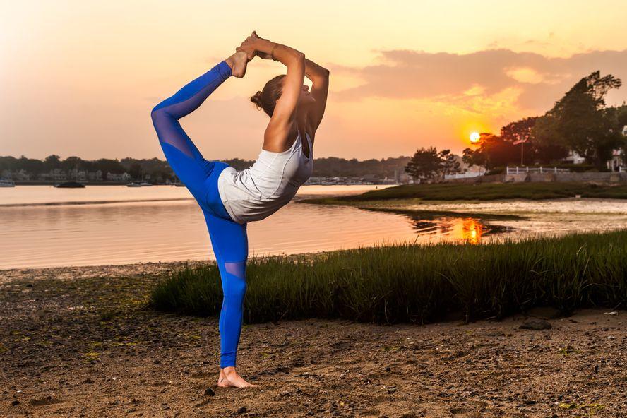Ocho posturas de yoga para corredores