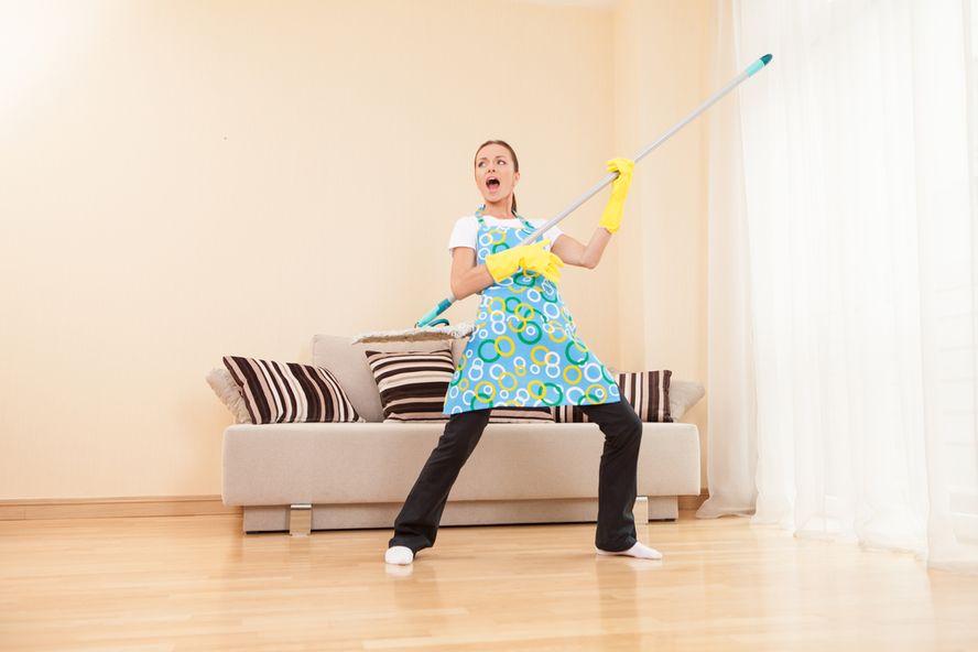 Siete tareas hogareñas ideales para quemar calorías