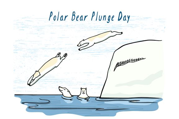 Cool Facts About New Year's Polar Bear Dips