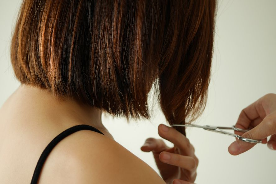 How To Cut And Style Your Own Hair At Home