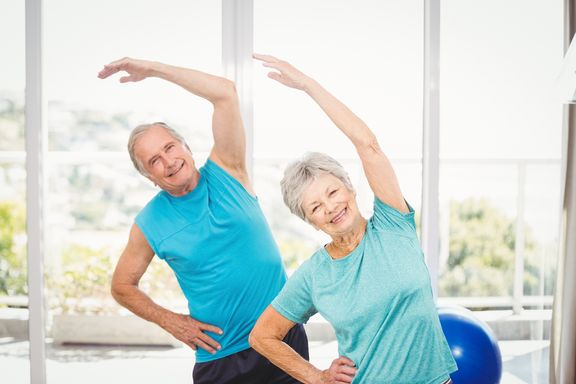 At Home Exercises For Seniors