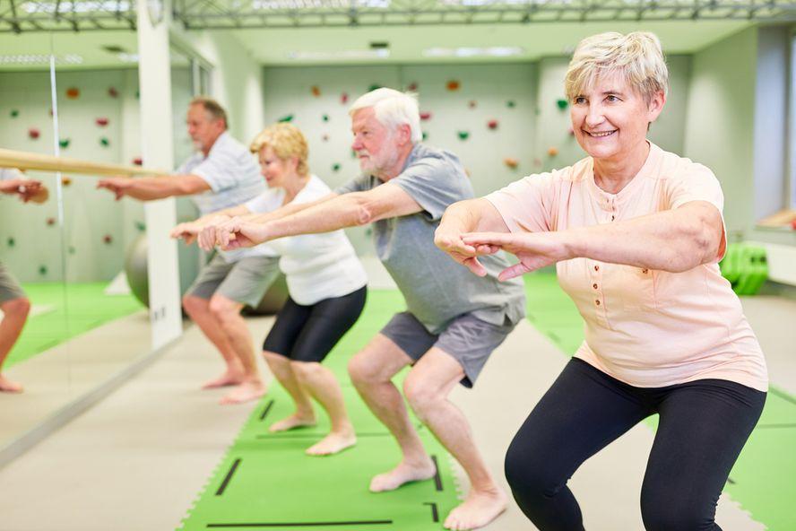 Knee Strengthening Exercises for Seniors