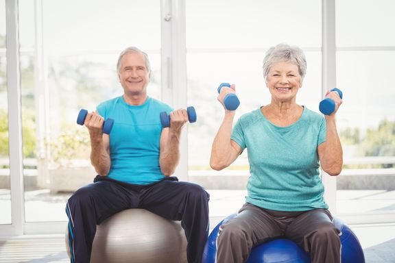 Seated Strength Training Workout for Seniors (With Video)
