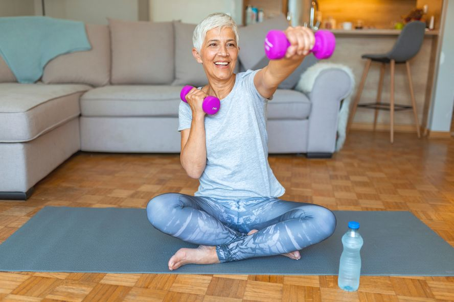 Exercise Equipment Every Senior Should Have at Home