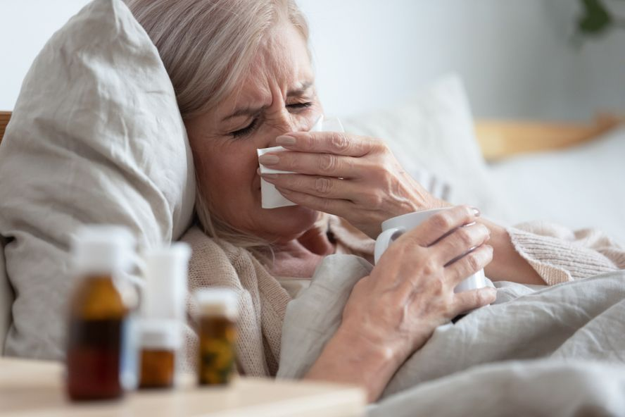 Flu in Seniors: Symptoms, Causes, and Treatment