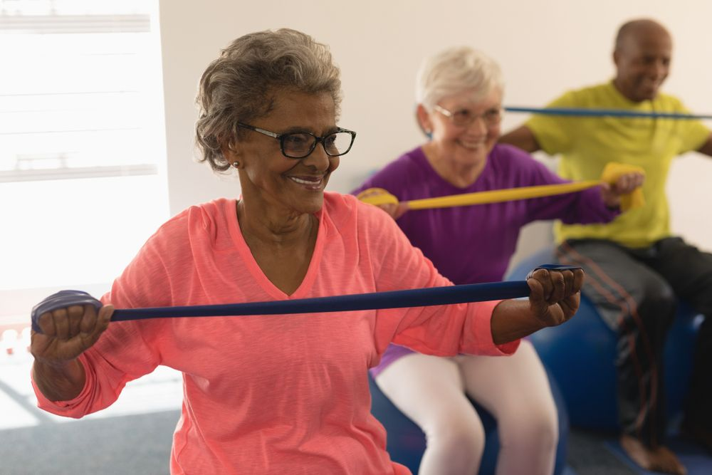 Resistance Band Exercises for Seniors (With Video) - ActiveBeat