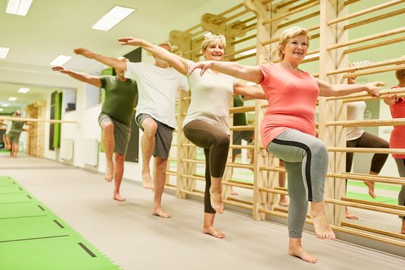Standing Balance Exercises for Seniors (With Video)