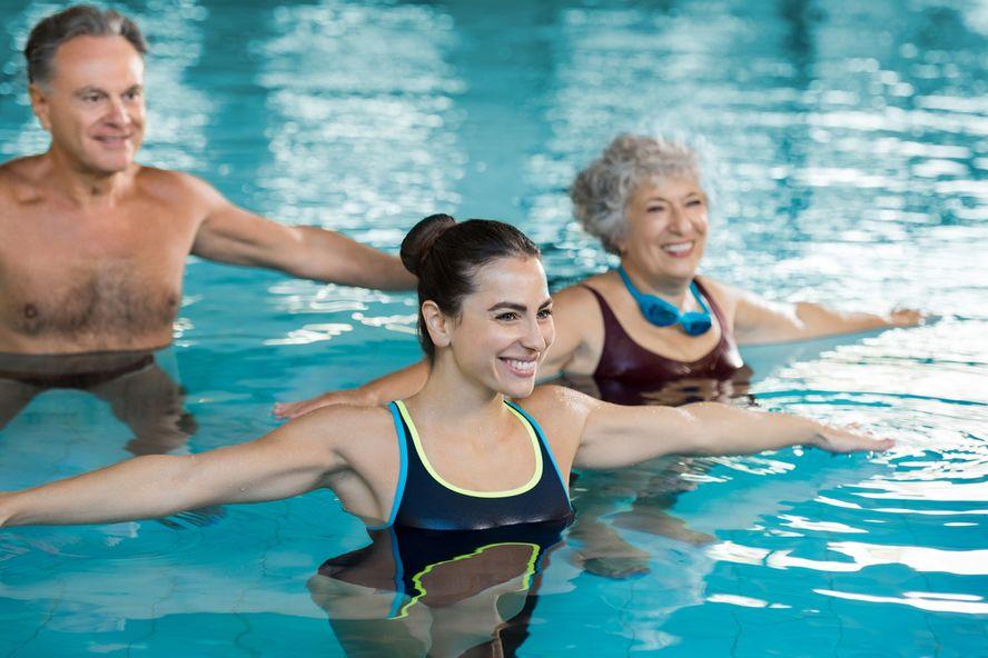 Pool Exercises for Seniors