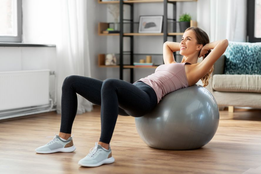 Stability Ball Exercises: Tone And Strengthen