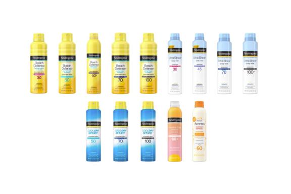 Neutrogena Recalls Aerosol Sunscreen Due to Benzene Levels