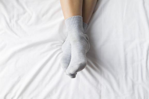 Plot Twist: Socks Actually Help You Sleep Better